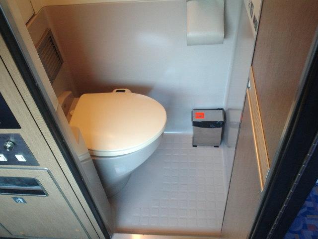カシオペア個室内トイレ
