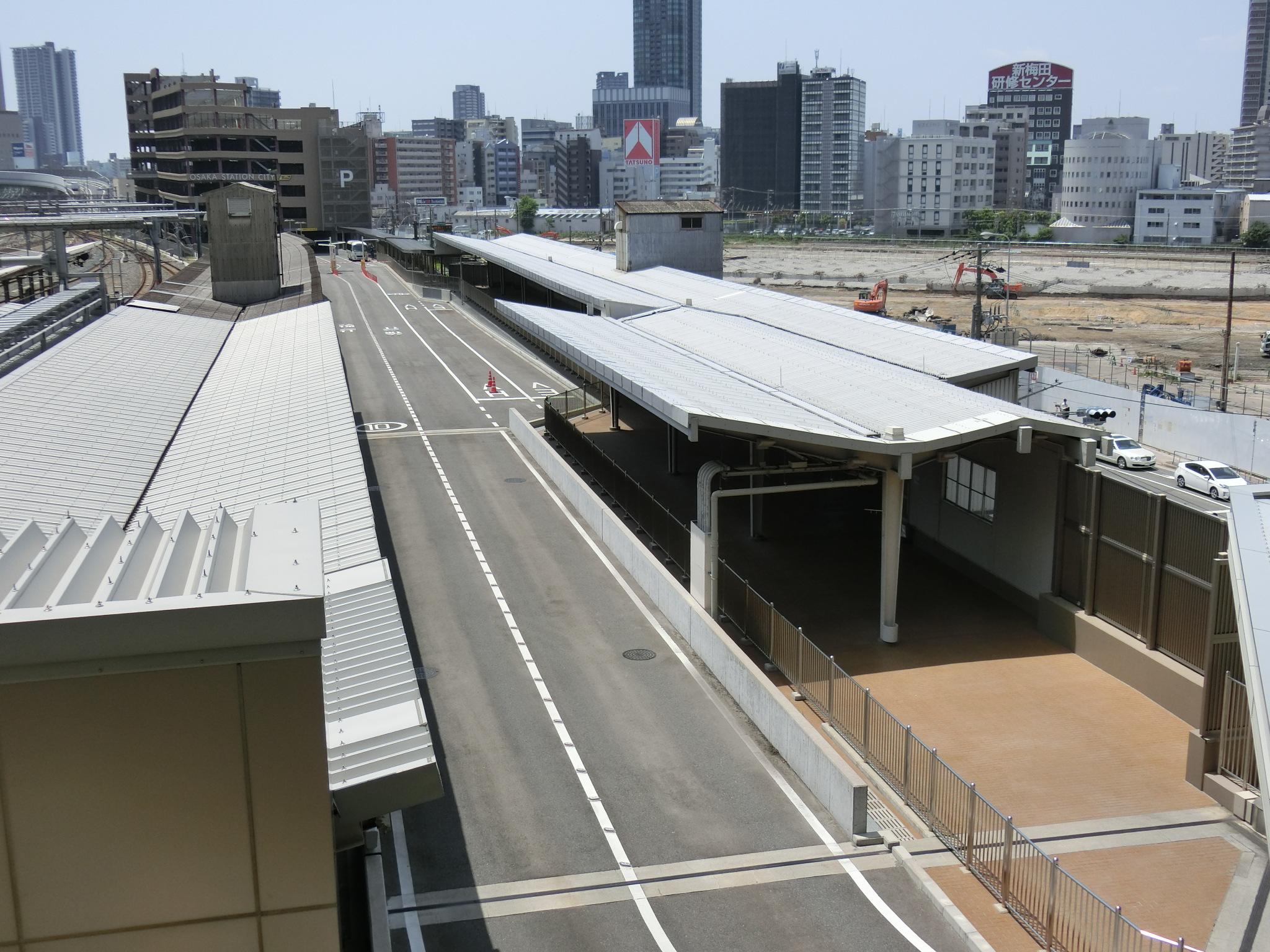 大阪駅 旧11番線