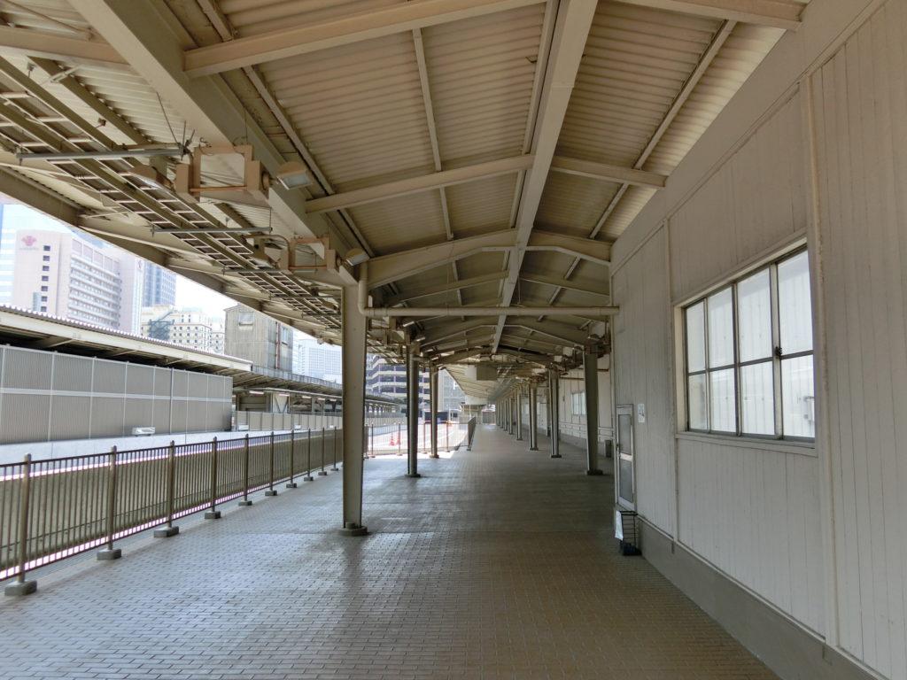 大阪駅 旧11番線ホーム跡