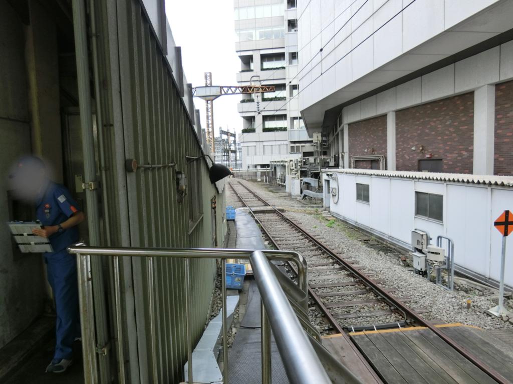 東京駅15番線終端