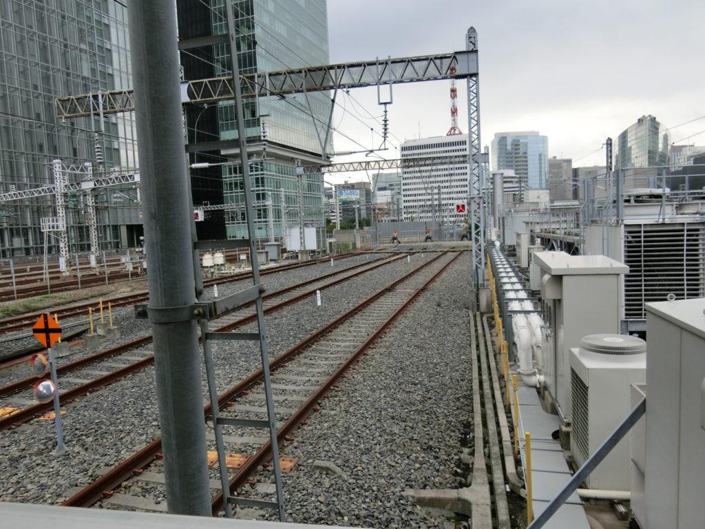 東京駅21~23番線の終端
