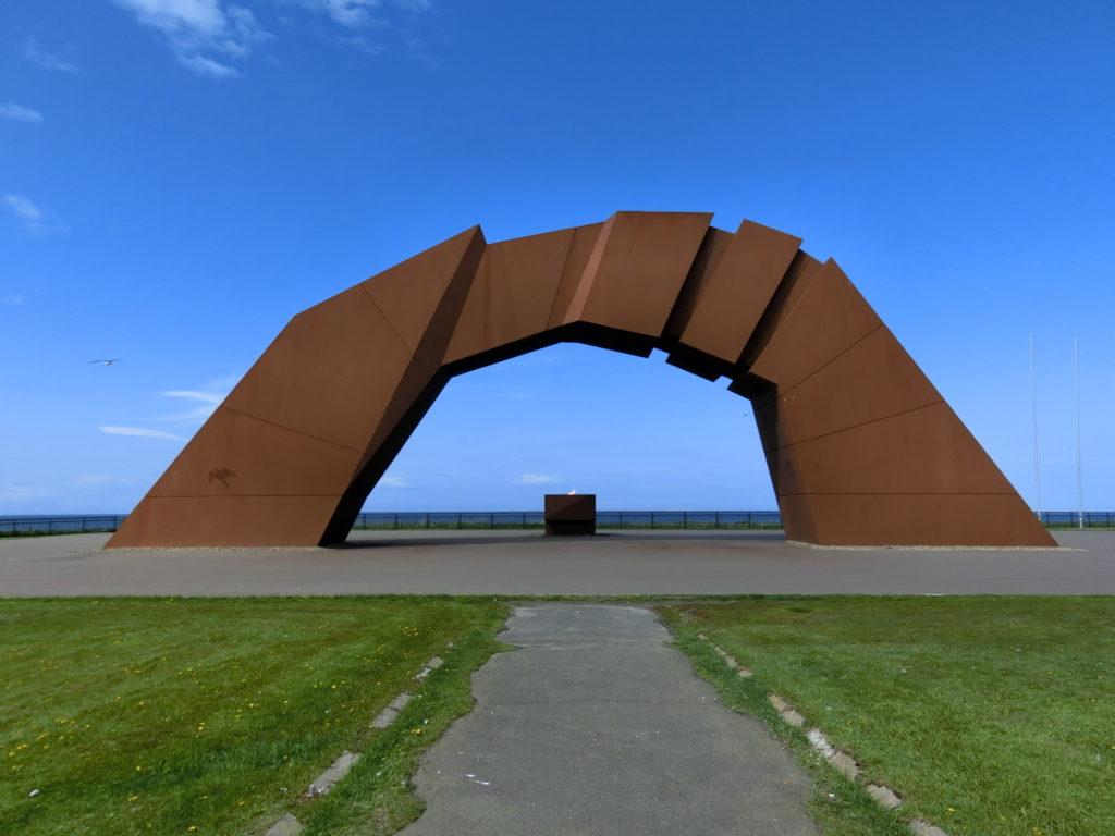 納沙布岬 四島のかけ橋