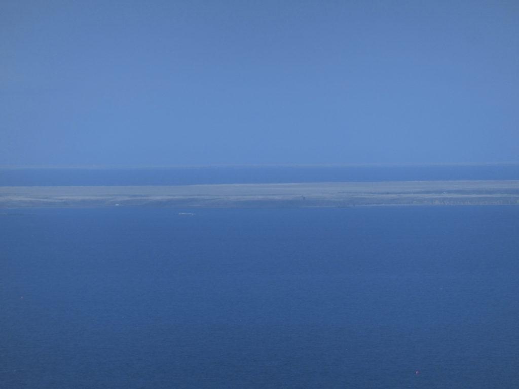 オーロラタワーから見る北方領土