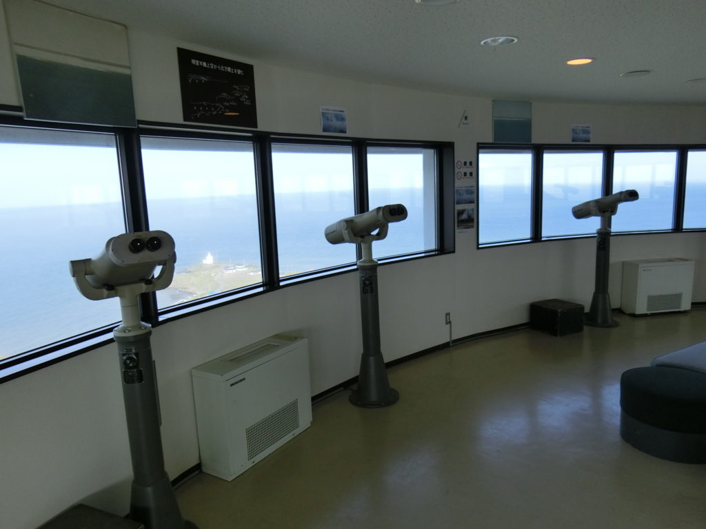 納沙布岬オーロラタワー展望台