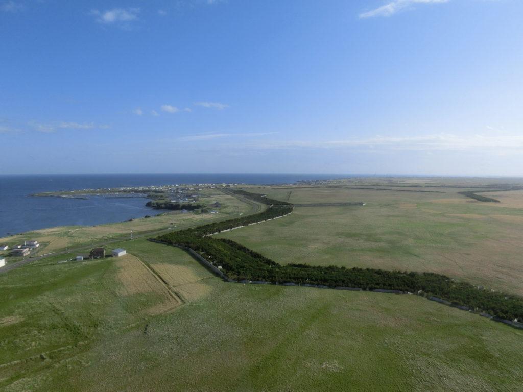 納沙布岬からの眺め