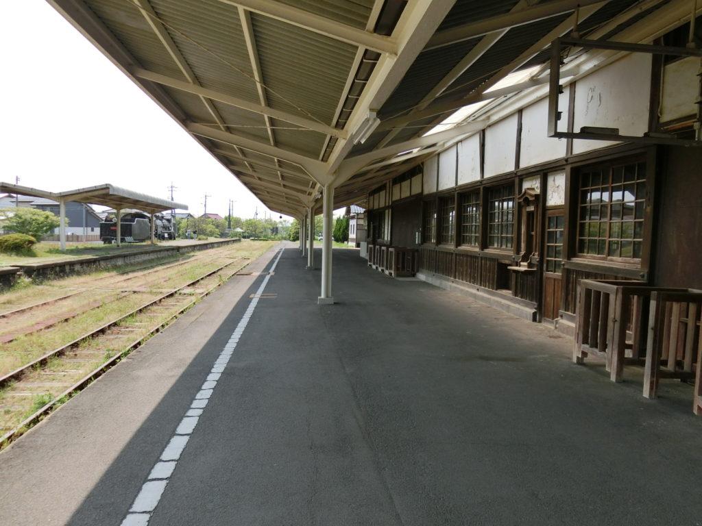 旧大社駅 ホーム
