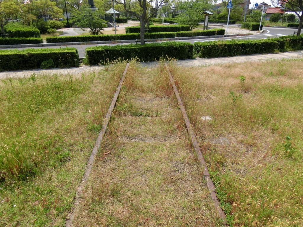 旧大社駅 線路