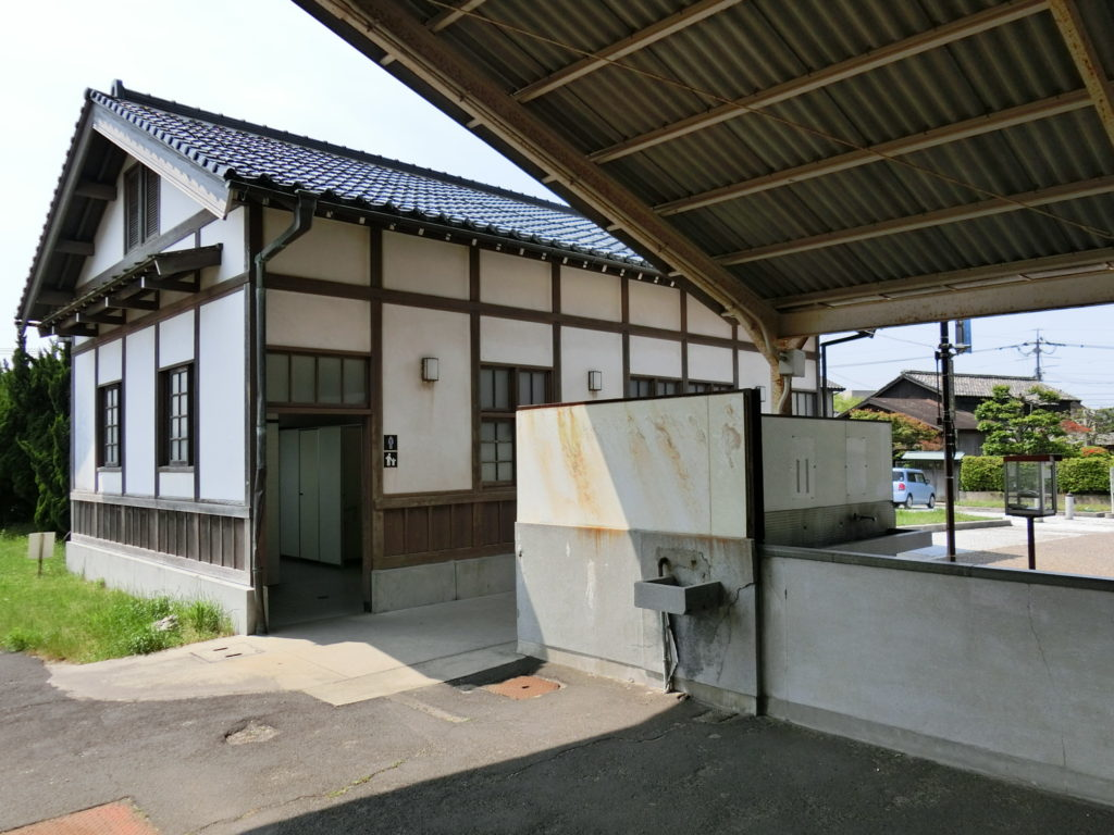 旧大社駅 トイレ