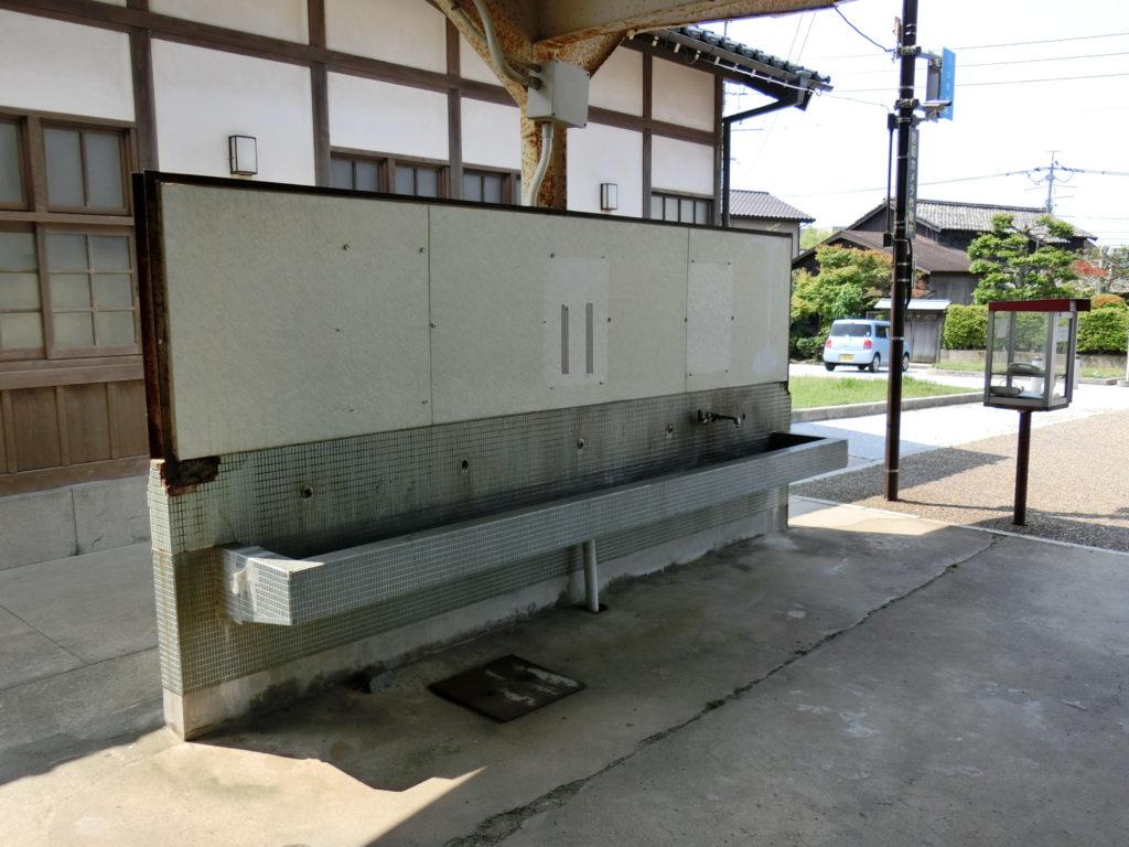 旧大社駅 手洗い場