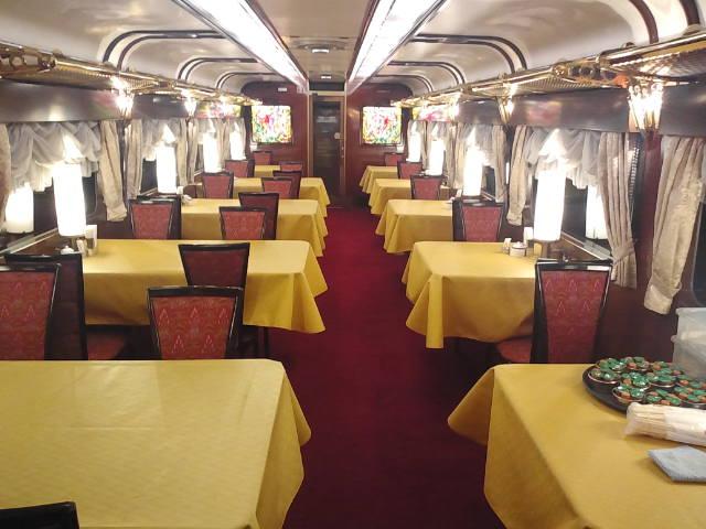 トワイライトエクスプレス食堂車 ダイナープレヤデス