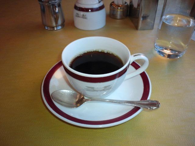 トワイライトエクスプレスのコーヒー