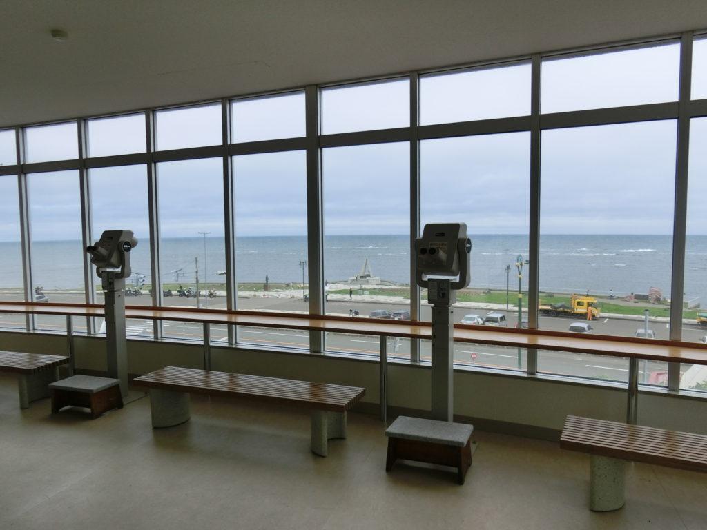 宗谷岬展望台からの眺め