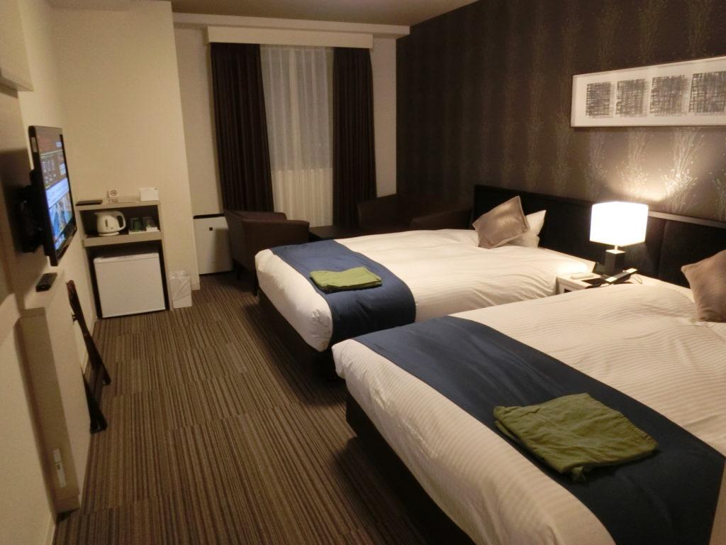 ホテル・ラ・ジェント・プラザ函館北斗の部屋(デラックスツイン)