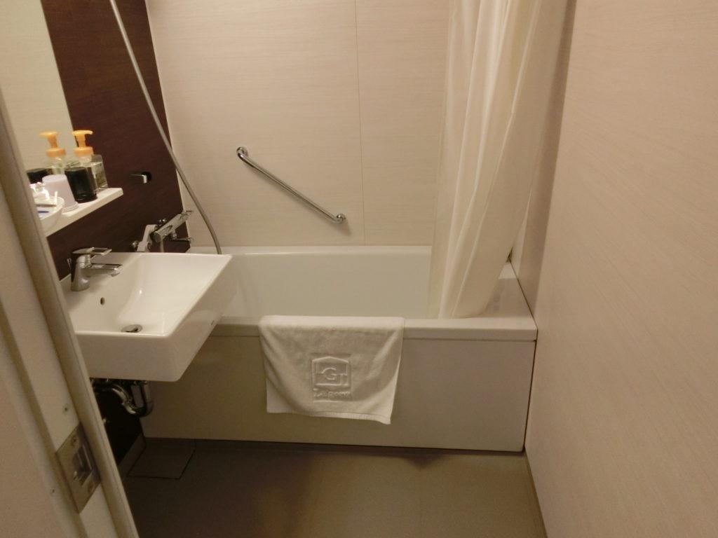 ホテル・ラ・ジェント・プラザ函館北斗の部屋(デラックスツイン)の浴室