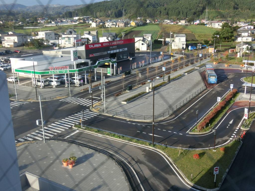 ホテル・ラ・ジェント・プラザ函館北斗の部屋からの眺め