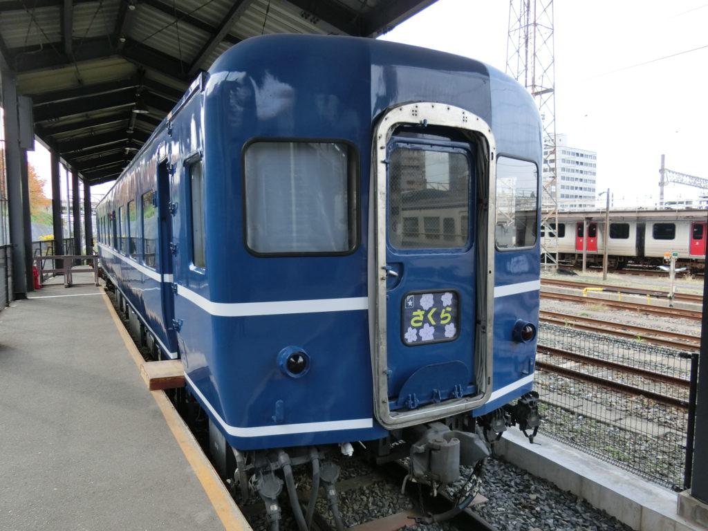 九州鉄道記念館のスハネフ14-11